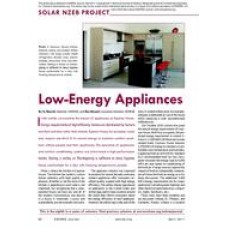 08: Solar NZEB Project: Low-Energy Appliances