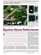 11: Solar NZEB Project: Equinox House Performance